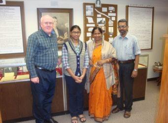 Don Dennison, daughter Singa, Charusheela Singa and Pastor Samir Singha