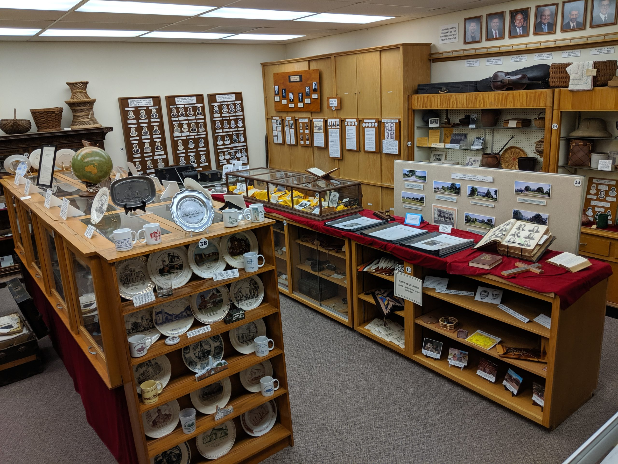 Museum Display Room